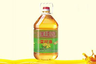 美佳園 壓榨一級菜籽油